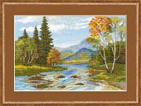 Набор для вышивки крестом Риолис 1052 «Ранняя осень»