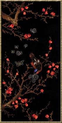 Набор для вышивки лентами Риолис 1062 «Цветущая ветвь»