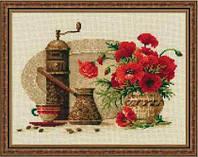 Набор для вышивки крестом Риолис 1121 «Кофе»