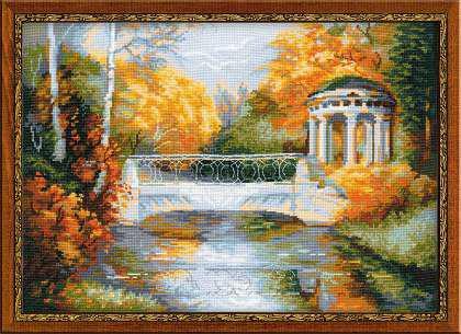 Набор для вышивки крестом Риолис 1195 «Осенний парк»