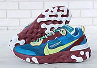 Мужские кроссовки Undercover x Nike React Element 87(ТОП РЕПЛИКА ААА+)