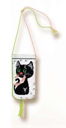 Набор для вышивки крестом Риолис 1027 Очёчник «Кошки-мышки»