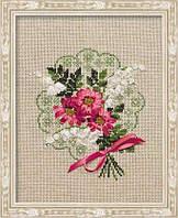 Набор для вышивки лентами Риолис 1074 «Букет любви»