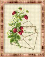 Набор для вышивки крестом Риолис 1200 «Скучаю»