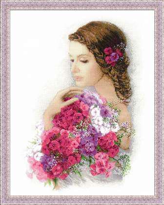 Набор для вышивки крестом Риолис 100/036 «Очарование лета»