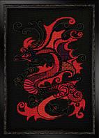 Набор для вышивки крестом Риолис 1229 «Красный дракон»