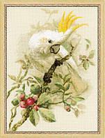 Набор для вышивки крестом Риолис 1362 «Белый какаду»