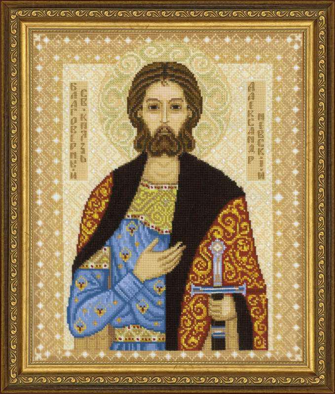 Набор для вышивки крестом Риолис 1424 «Святой князь Александр Невский»
