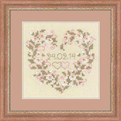 Набор для вышивки бисером Риолис 1405 «От всего сердца»