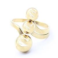 """Кольцо из нержавеющей медицинской стали """"Dana"""" в золотом цвете"""