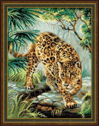 Набор для вышивки крестом Риолис 1549 «Хозяин джунглей»