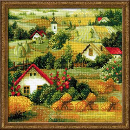 Набір для вишивки хрестом Ріоліс 1569 «Сербський пейзаж»