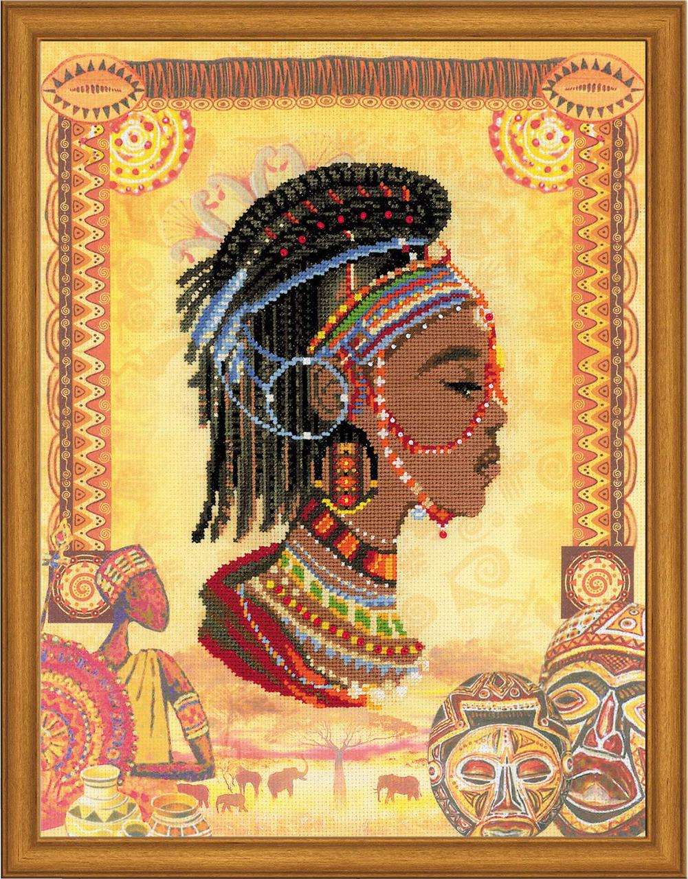 Набір для вишивки Ріоліс РТ-0047 «Африканська принцеса»