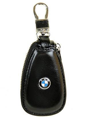 Автоключница кожа F633 BMW black, фото 2