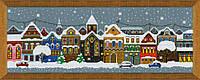 Набор для вышивки крестом Риолис 1683 «Рождественский город», фото 1