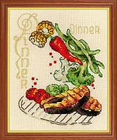 Набор для вышивки крестом Риолис 1686 «Обед», фото 1