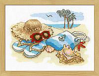 Набор для вышивки крестом Риолис 1719 «Отдых на море»