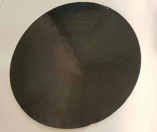 Подложка круг 32 см уплотненная 3мм, Золото/черная, 3 мм., фото 2