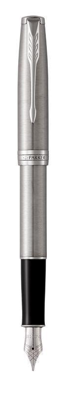 Ручка Parker Перьевая SONNET 17 Stainless Steel CT FP F (84 211)
