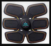 Пояс стимулятор мышц EMS TRAINER, миостимулятор, тренажер для пресса, тренажер бабочка, стимулятор для мышц