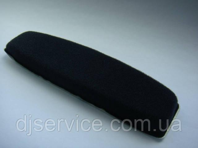 Подушка оголовья черная для наушников Sennheiser HD515, HD555, HD595, HD518, HD598 HD559 HD569