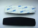 Подушка оголовья черная для наушников Sennheiser HD515, HD555, HD595, HD518, HD598 HD559 HD569, фото 2