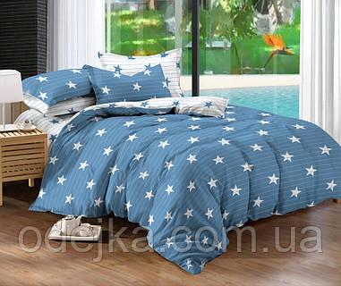 Двуспальный комплект постельного белья евро 200*220 сатин (10092) TM КРИСПОЛ Украина