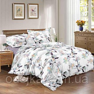 Двуспальный комплект постельного белья 180*220 сатин (9918) TM КРИСПОЛ Украина