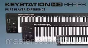 M-Audio Keystation MK3 — обновление моделей популярных MIDI-клавиатур