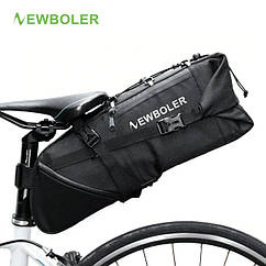 "Велосумка водоупорная грузовая ""bikepacking"" подседельная NEWBOLER BAG026 (V: 3-10 л / m < 8 кг / L: 46 см)"