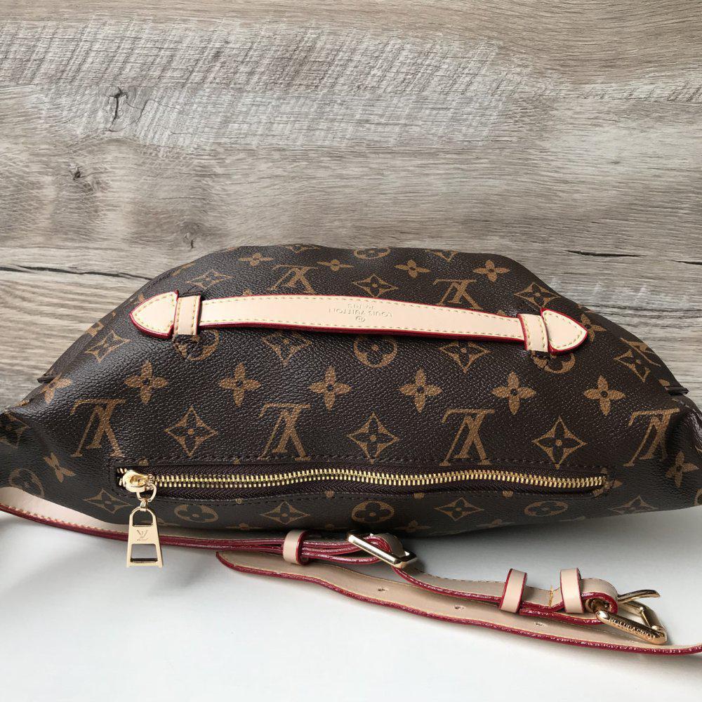 61ba82529962 Напоясная сумка-бананка Louis Vuitton Люкс, нагрудная сумка Луи Витон,  сумка от луи