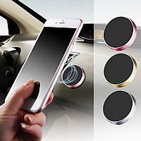 Автомобільний магнітний тримач для навігатора, смартфона Red, фото 1