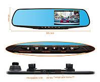 Авторегистратор - Зеркало DVR 138E Full HD, видеорегистратор в зеркале заднего вида, регистратор автомобильный, фото 1