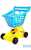 ТехноК Тележка для супермаркета синяя (4227)