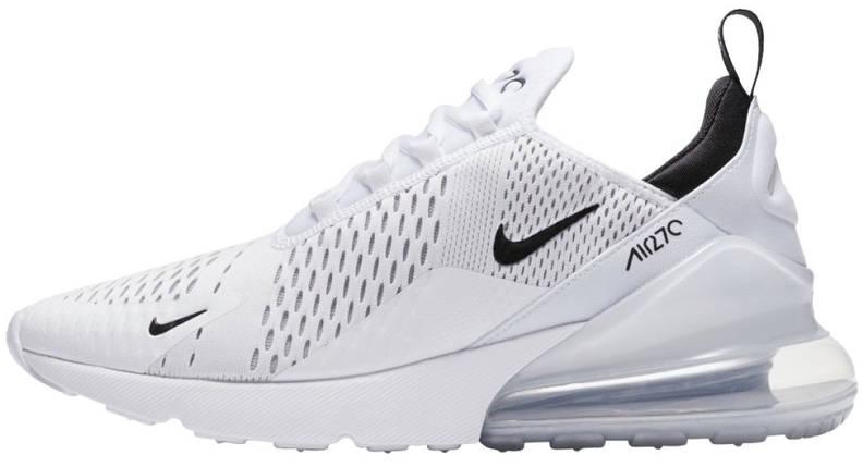 Женские и мужские кроссовки Nike Air Max 270 White, фото 2