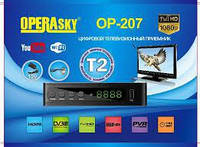 TV тюнер Т2 приемник для цифрового ТВ, DVB-Т2 OP-207 Operasky, тв тюнер, т2 приставка, фото 1