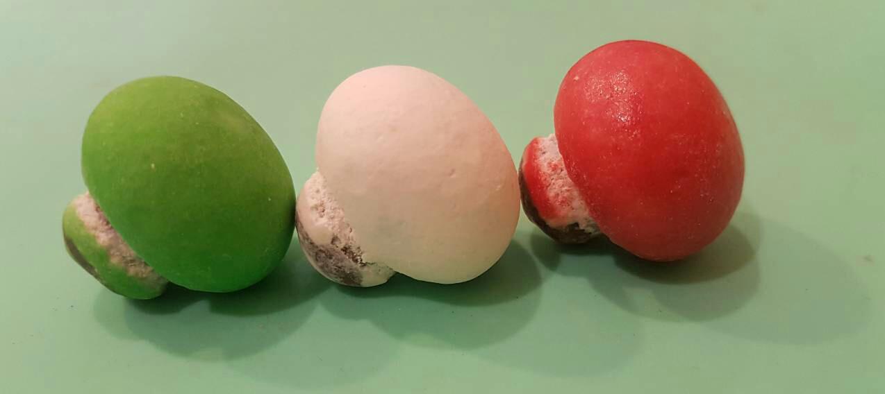 "Сахарный декор ""Грибочки"" 3шт."