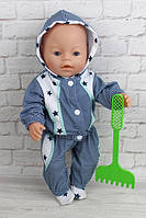 Костюм чемпион для куклы Baby Born