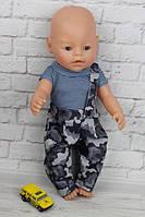 Комбинезон с майкой для куклы Baby Born