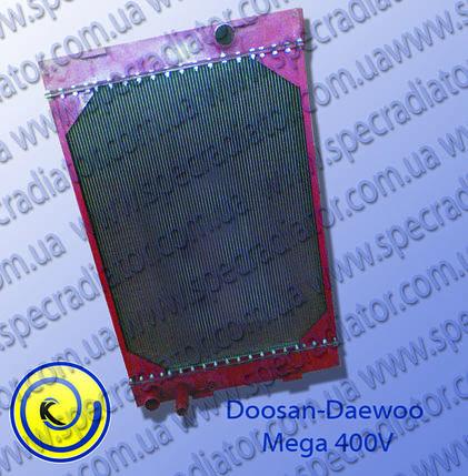 Радиатор системы охлаждения двигателя Doosan-Daewoo, фото 2