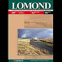 Матовая фотобумага lomond двухсторонняя 100 гр/м a4*100 листов (0102002)