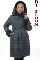 Зимняя женская куртка с поясом