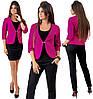 Комплект ТРОЙКА пиджак, брюки, юбка / 4 цвета  арт 6549-92, фото 3