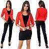Комплект ТРОЙКА пиджак, брюки, юбка / 4 цвета  арт 6549-92, фото 4
