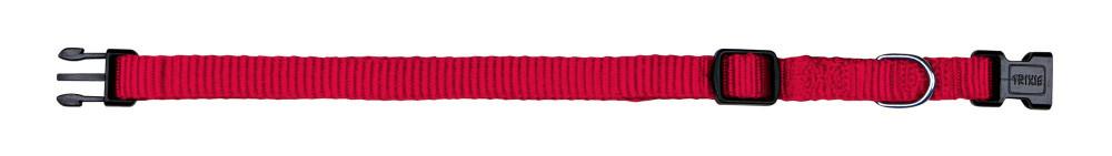Ошейник для собак нейлонTrixie Classic XS-S22-35см 10мм Красный