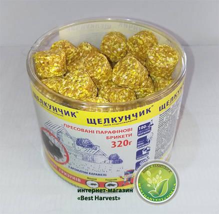 «Щелкунчик» брикеты желтые 320 г туба, от крыс и мышей, оригинал , фото 2