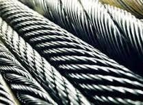 Канат сталевий в асортименті діаметр від 0,8 мм до 56,0 мм