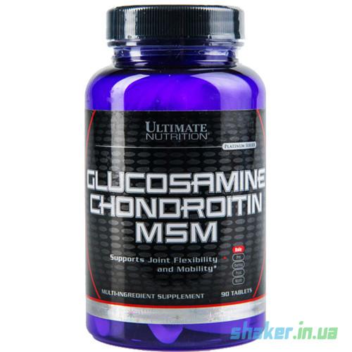 Ultimate Glucosamine Chondroitin MSM - 90 Tabl. Dose Neutral