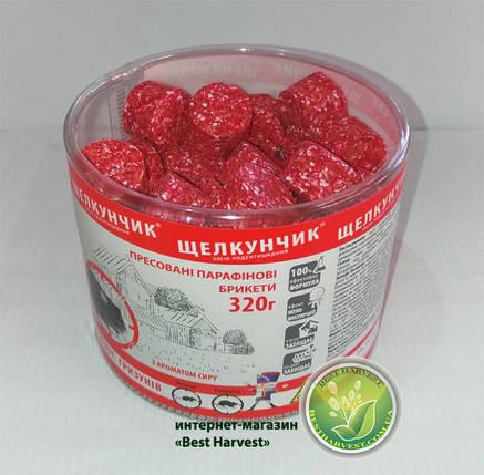 «Щелкунчик» брикеты красные 320 г туба, от крыс и мышей, оригинал , фото 2