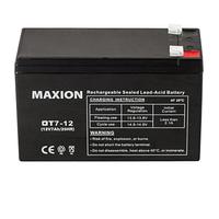 Промышленный Аккумулятор UPS MAXION 12- 7 (12V,7Ah)